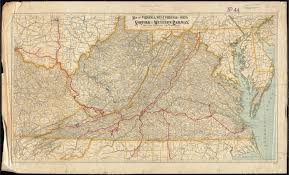 Map Of West Va Map Of Virginia West Virginia And Ohio Norman B Leventhal Map