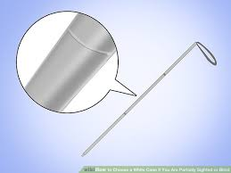 Walking Stick For Blind People How To Choose A White Cane If You Are Partially Sighted Or Blind
