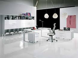White Home Office Furniture Sets Contemporary Home Office Furniture That Will Give An Exceptional