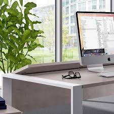 Schreibtisch Kolonial Pc Schreibtisch Proscuveda In Betonoptik 150 Cm Wohnen De