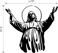 aliexpress com buy 2015 new design christian character jesus aliexpress com buy 2015 new design christian character jesus wall stickers jesus decor stickers sitting room the bedroom decorates the stickers from