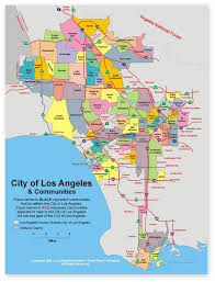 los angeles map pdf los angeles city maps