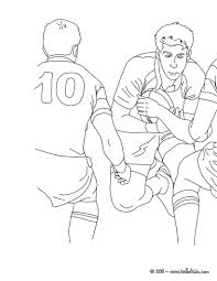 rugby scrum half coloring pages hellokids com