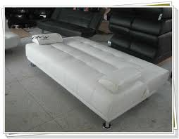 Cheap Sofa Bed by Large Italian Faux Leather Sofa Bed With Chrome Legs Buy Maldon