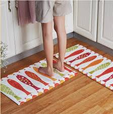 kchen tapeten modern 2 2pcs set kitchen mat set eco friendly modern bathroom carpet