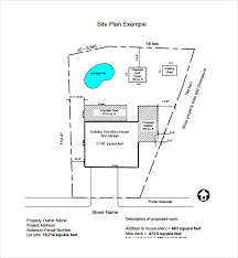 site plan sle site plan template 9 free documents in pdf word