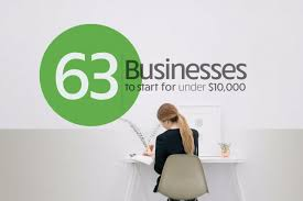 63 businesses to start for under 10 000