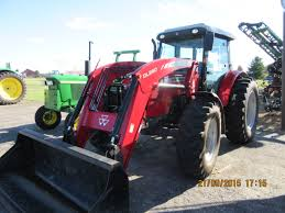 massey ferguson 2680 hd heavy duty tractor u0026 dl280 loader massey