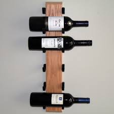 decor interesting exhibit wall wine rack natural wooden and black