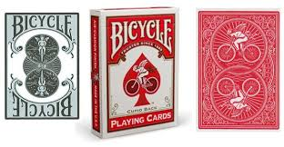 the open scroll blog our lady of the bicycle playing cards time