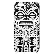 polynesian sun mask design iphone photos pictures
