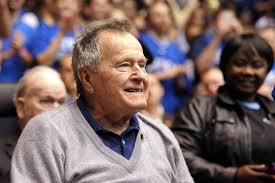George W Bush Birth George H W Bush Celebrates His 93rd Birthday At Sea