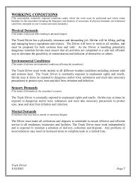 Truck Driver Job Description For Resume by Truck Driver Job Description For Resume Ilivearticles Info Truck