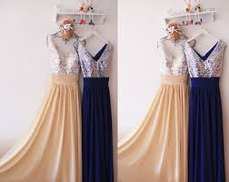 blue sequin bridesmaid dress handmade sequin bridesmaid dress etsy