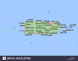 Map Of Puerto Rico Puerto Rico Map Stock Photos U0026 Puerto Rico Map Stock Images Alamy