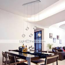 pendant light modern contemporary island chrome feature for