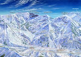 Mt Hood Trail Map West Usa Ski Maps Archives James Niehuesjames Niehues