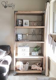 diy industrial cart bookcase industrial hardware and wheels