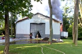 Middleton Home Crews Clean Up After Large Garage Fire In South Middleton Township