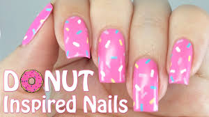 easy donut nails youtube