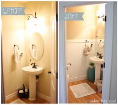 Powder Room Layouts Powder Room Redo Completed Meadow Lake Road