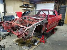 scribeworks starion chumpcar build restoration center