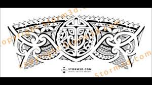 tribal armband legband tattoo design how to make a seamless fit