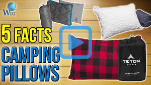 Camp Bedding Top 10 Camping Pillows Of 2017 Video Review