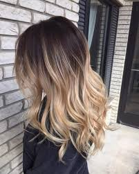 hair styles brown on botton and blond on top pictures of it not like this too different top ftom the light at the bottom