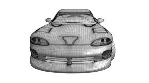 cartoon sports car black and white dodge viper gts u2013 richard beard