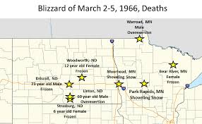North Dakota where to travel in march images Blizzard of march 2 5 1966 storm data png