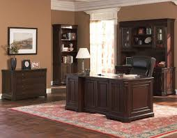 Home Office Double Desk by Coaster Fine Furniture 800564 Cherry Valley Double Pedestal