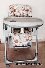 chaise haute b b aubert articles bébé à tanger page 3 marocannonces com