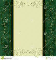 Single Invitation Cards Vintage Background Menu Cover Invitation Card Stock Images Image