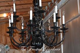 How To Refurbish A Chandelier How To Refinish A Chandelier 28 Images The Frosted Gardner The