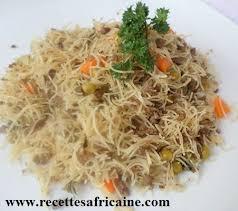 recette de cuisine africaine malienne vermicelle a la viande hachée recettes africaines