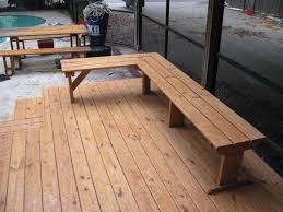 Wood Bench Designs Decks by 13 Best Deck Seating Images On Pinterest Deck Benches Deck