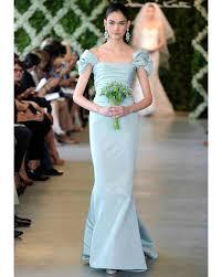 blue wedding dress blue wedding dresses 2013 bridal fashion week martha