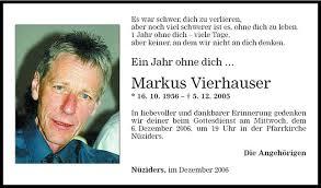 kondolenzbuch sprüche markus vierhauser jahresgedächtnis vn todesanzeigen