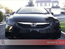honda civic headlight rtint honda civic sedan 2006 2011 headlight tint