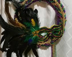beautiful mardi gras masks mardi gras wreath etsy