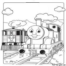 print pictures toby tram engine thomas train