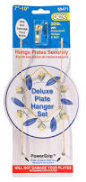 plate hangers for wall mounted plates amazon com ook 50471 deluxe plate hanger with steel pro supports