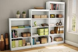 furniture interesting rack cheap bookcase with white desk for