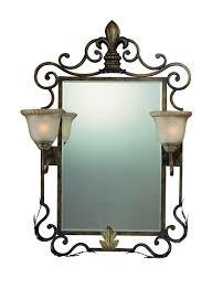 Wrought Iron Bathroom Lighting 13 U2013 Of Astounding Images Of Wrought Iron Bathroom Mirror And