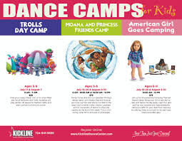 dance camps for kids macaroni kid