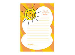 father u0027s day lined writing paper template ichild