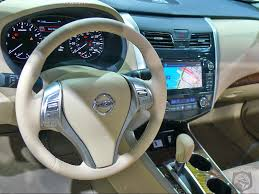 nissan sylphy 2010 interior nissan altima 3 5 sl sedan shown in beige leather with optional