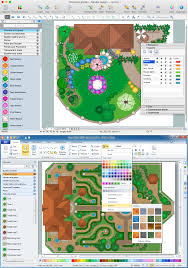 landscape design software draw landscape deck and patio plans