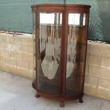 how much is my china cabinet worth antique china cabinet curved glass beautiful antique walnut 1930s
